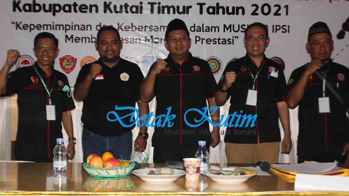 Faisal Rahman Terpilih Menjadi Ketua IPSI Kutim