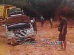 Keluhan Warga Terkait Jalan Di Muara Bengkal, Ketua DPRD Kutim Semua Harus Koordinasi Untuk Atasi Permasalahan Tersebut
