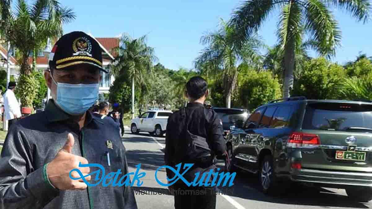 Ketua DPRD Kutim Sambut Pangdam IV Mulawarman
