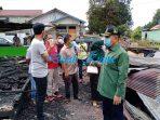 Ketua DPRD dan Anggota Bantu Korban Kebakaran Di RT 40 Gang Kutai Indah