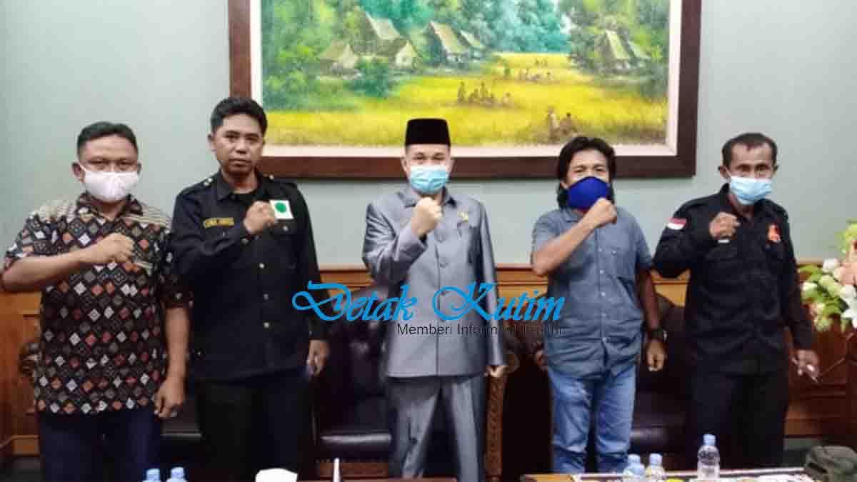 LSM L2HI Kutim Silaturahmi ke Ketua DPRD Kutim