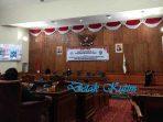 Rapat Paripurna DPRD Kutim Penyampaian LKPJ Bupati Kutai Timur Tahun 2020