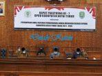 Yusuf Silambi Sampaikan PU RPJMD Fraksi PDI Perjuangan 2021
