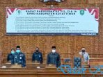 DPRD Kutim Setuju Raperda Perusahaan Umum Daerah Air Minum Tirta Tuah Benua dan Bantuan Hukum Warga Miskin