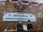 DPRD Kutim Gelar Paripurna Ke 24 mengenai Jawaban Pemerintah Atas Pemandangan Umum Dari Fraksi-fraksi