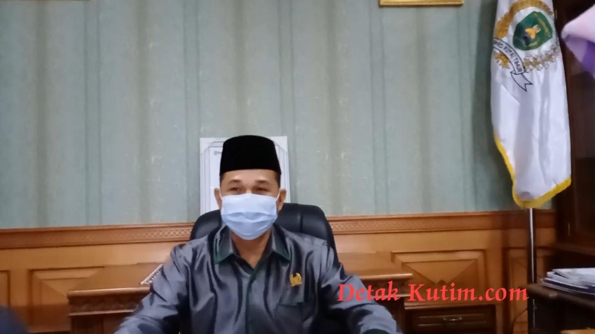 Ketua DPRD Kutim Ajak Masyarakat Tingkatkan kesadaran Pentingnya Prokes