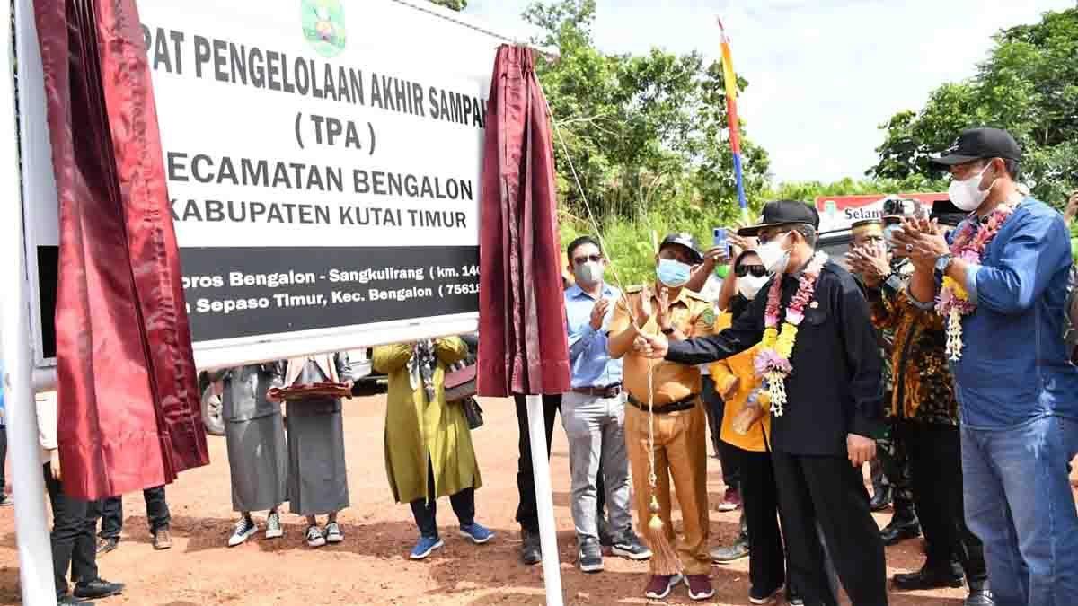 Bupati resmikan TPA di Kecamatan Bengalon